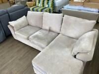 NEXT beige corner sofa