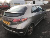 Honda Civic diesel 2008 year breaking spare parts available