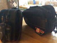 Saddlebags for motorbike