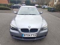 BMW 5 SERIES 530D Auto 3.0 Diesel 4dr 2004 GENUINE LOW MILEAGE+FULL SERViCE HISTORY from BMW