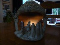 Pottery Christmas Nativity