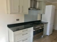 Granite worktop - black