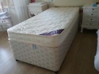 3ft guest bed with trundle and mattresses. XXX SOLD XXX