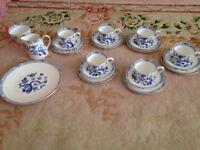 Royal Tuscan tea set £60ono