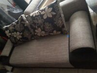 Brand new sofa with sleeping function, possible delivery