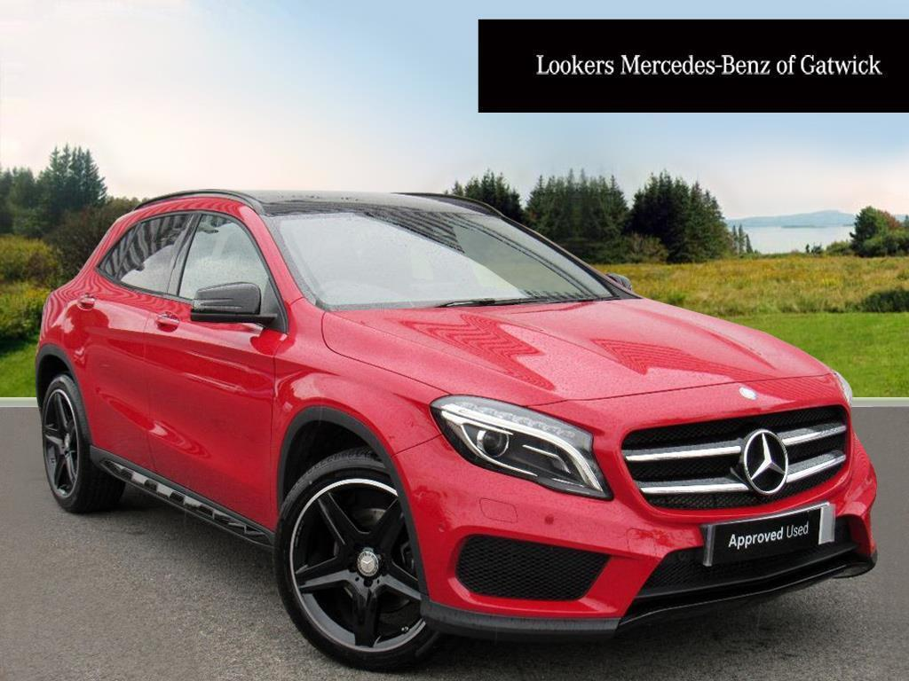 mercedes benz gla class gla 220 d 4matic amg line premium plus red 2017 01 03 in crawley. Black Bedroom Furniture Sets. Home Design Ideas