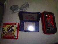 'New' Nintendo 3DS XL Metallic Blue Used
