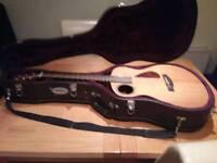 Walden B 1e Baritone Electro guitar with hard case