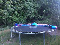 10ft trampoline 6months old