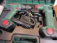 Bosch 12volt battery drill