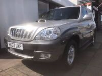 Hyundai Terracan 2.9 CRTD Limited Edition Station Wagon 5dr ONLY 73109 GENUINE MILES