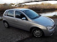 CHEAP 06 PLATE CORSA 5 DOOR WITH ONLY 70K MILES...6 SERVICE STAMPS..AIR CON..RADIO/CD..IDEAL 1ST CAR
