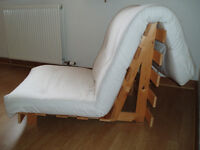 wood slatted chair/lounger- with or without cushion