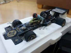 REDUCED - Exoto Lotus 72D, 1:18 Scale, Highly detailed model in mint condition