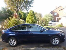 Mazda 6 TS 2.0 Petrol. Excellent Condition. 12 months MOT. Blue. Parking Sensors