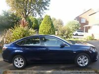 Mazda 6 TS 2.0 Petrol. Excellent Condition. 12 months MOT. Blue. Parking Sensors