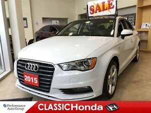 2015 Audi A3 2.0T PREMIUM S-LINE LEATHER SUNROOF AWD
