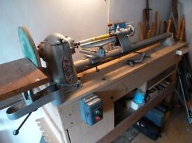 Wood Turning Lathe.