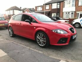 Seat Leon 2.0 cupra t fsi 10 months mot full service history two keys lady owner drives superb