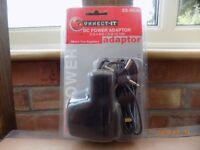 d.c.power adapter.