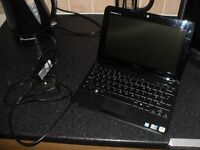 Dell inspiron mini 1018 - excellent condidtion. next to new - ac charger and carry case included.