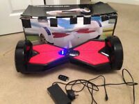 """Swegway with 8"""" chunky wheels, bluetooth, lights, charger & key fob"""