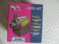 Maxi-Jet MJ1000 Submersible Multi Use Water Pump - New in Box