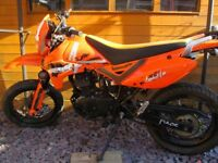 PULSE ADRENALINE 125CC 2013 PLATE 3268 MILES FROM NEW