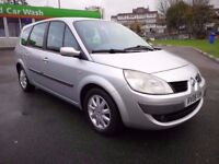 7 SEATER RENAULT GRAND SCENIC 1.6 MANUAL IN VERY CLEAN CONDITION. 1 YEAR MOT. FULL SERVICE HISTORY