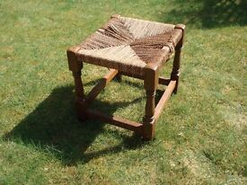CANE STOOL - IN NEED OF RECANING