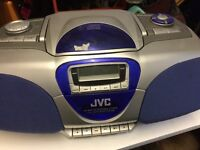 JVC CD Portable System, Full Auto Stop System