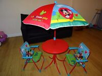 Children 4 Piece Table and Chair