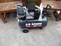 SEALEY 3HP COMPRESSOR WITH 50LTR TANK V TWIN PUMP