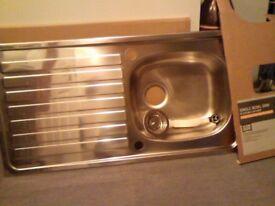 Kitchen sink and waste