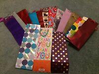 Various gift bags