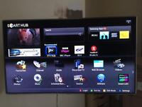 Samsung Smart 3D LED TV 55inch 1080HD with stand, wall mount and 3D glasses