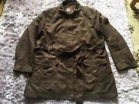 Ladies BM Brown Su Ladies BM Brown Suede Effect Lined Jacket size L used £7