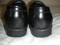 Black Leather Clifford James Shoes