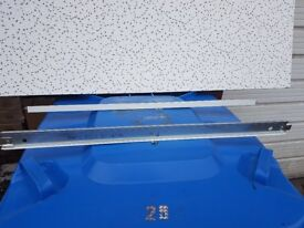 Joblot Ceiling tile grids Cross Tee 15 600mm and 1200mm