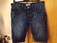 Next Denim Shorts Size 36