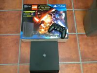 Sony ps4 latest slim model 500 GB 2 months old