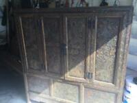 Antique tibetan cabinet