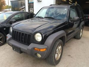 2003 Jeep Liberty Sport CALL 519 485 6050 CERT AND E TESTED