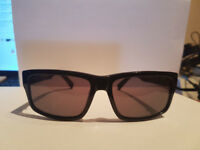 MEN'S BLACK TIMBERLAND WAYFARER STYLE SUNGLASSES MODEL TB2076/01A