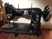 URGENT SALE ... Ranew sewing machine with stand and motor...