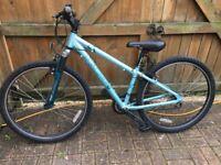"Ladies/girls APOLLO XC26s Mountain Bike, 14"" Alloy Frame, 26"" wheels, 21 gears, Reflectors & bell."