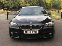 BMW 5-Series 525d MSport FBMWSH IMMACULATE CREAM LEATHERS