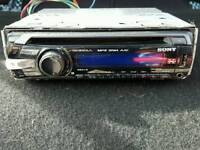 Sony XPLOAD car stereo cd.usb.aux fully working