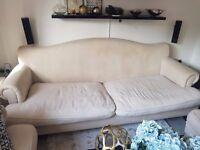 3 Seater Linen Sofa