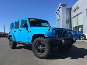 2017 Jeep Wrangler HIGH ALTITUDE HARD/SOFT TOP, NAV, $125* wkly!